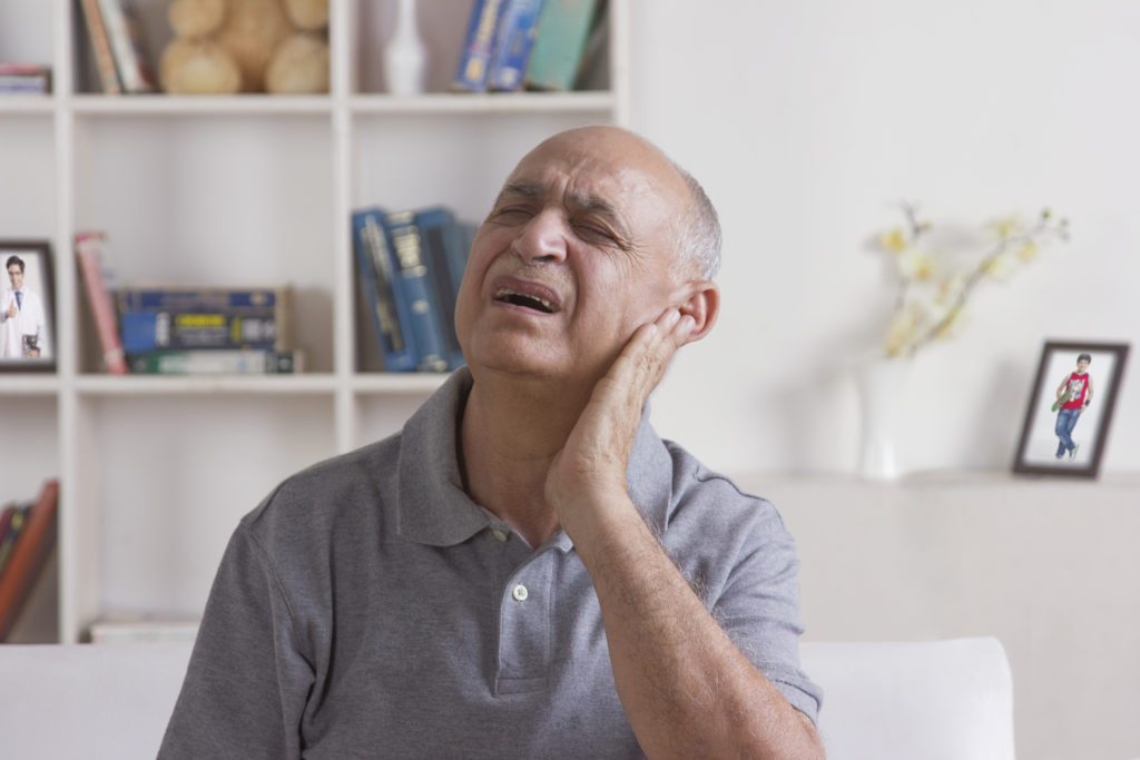 ear infection male pain gp